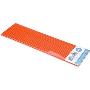 3Doodler ABS Plastic Filament Strands Highlighter Orange (AB13-ORNG)