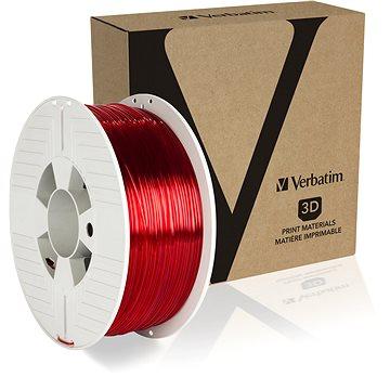 Verbatim PET-G 1.75mm 1kg červená transparentní (55054)