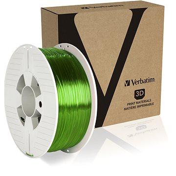 Verbatim PET-G 1.75mm 1kg zelená transparentní (55057)