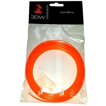 3D World ABS 1.75mm 10m oranžová (D11603)
