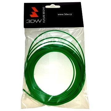 3D World PLA 1.75mm 10m zelená (D12606)
