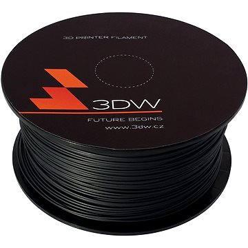 3D World ABS 1.75mm 1kg černá (D11108)