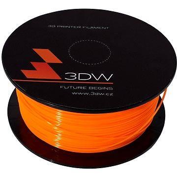 3D World PLA 1.75mm 1kg oranžová (D12103)