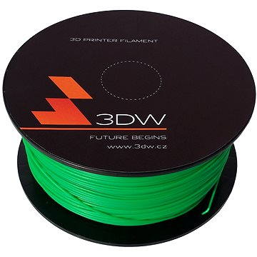 3D World PLA 1.75mm 1kg zelená (D12106)