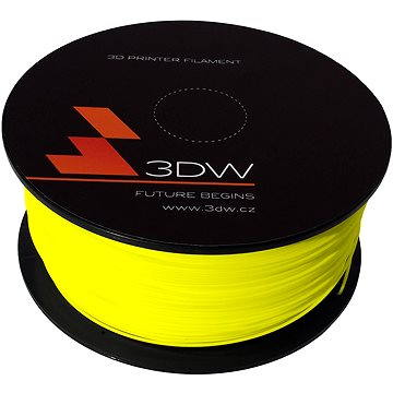 3D World PLA 1.75mm 1kg žlutá (D12102)