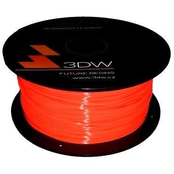 3D World PLA 1.75mm 1kg fluooranžová (D12113)