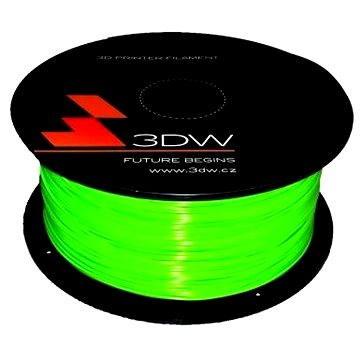 3D World PLA 1.75mm 1kg fluozelená (D12114)