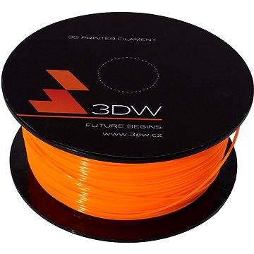3D World PLA 1.75mm 0.5kg oranžová (D12203)