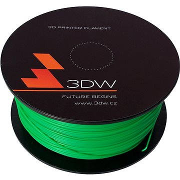 3D World PLA 1.75mm 0.5kg zelená (D12206)