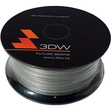 3D World PLA 1.75mm 0.5kg stříbrná (D12207)