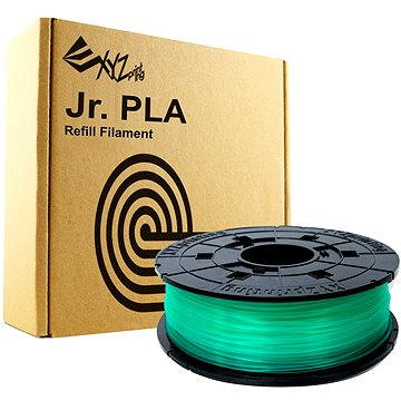 XYZprinting Junior PLA 1.75mm 600g clear green 200m (RFPLCXEU04G)