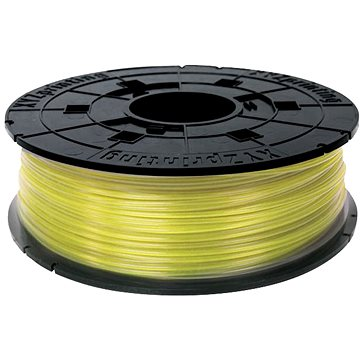 XYZprinting PLA 1.75mm 600g clear yellow 200m (RFPLAXEU00E)