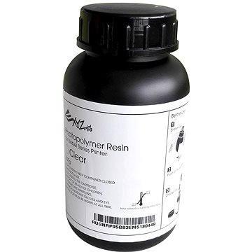 XYZprinting UV Curable Resin Photopolymer 500g Clear (RUGNRXTW12A)