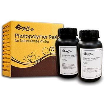 XYZprinting UV Curable Resin Photopolymer 500g Grey (RUGNRXTW02C)