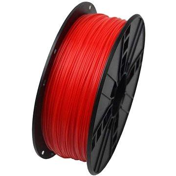 Gembird Filament ABS fluorescentní červená (3DP-ABS1.75-01-FR)