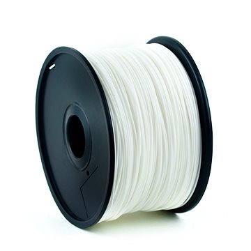 Gembird Filament PLA bílá (3DP-PLA1.75-01-W)
