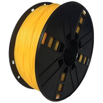 Gembird Filament flexibilní žlutá (3DP-TPE1.75-01-Y)