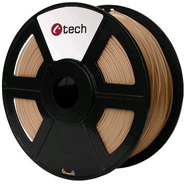 C-TECH Filament PLA dřevo (3DF-PLA1.75-WD)