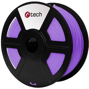 C-TECH Filament PLA fialová (3DF-PLA1.75-PR)