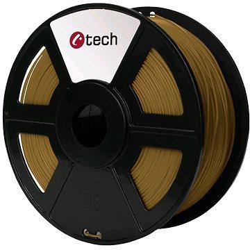 C-TECH Filament PLA hnědá (3DF-PLA1.75-BR)