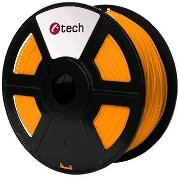 C-TECH Filament PLA oranžová (3DF-PLA1.75-O)