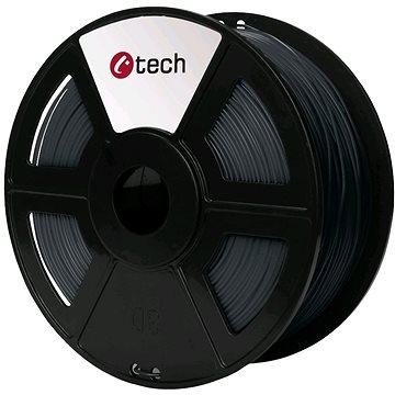 C-TECH Filament PLA šedá (3DF-PLA1.75-DG)