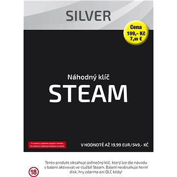 Náhodný klíč Silver (Steam) (DGA0123)