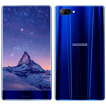 Doogee Mix 4GB Aurora Blue (PH6002) + ZDARMA Bezpečnostní software Kaspersky Internet Security pro Android pro 1 mobil nebo tablet na 6 měsíců (elektronická licence) Digitální předplatné Interview - SK - Roční od ALZY