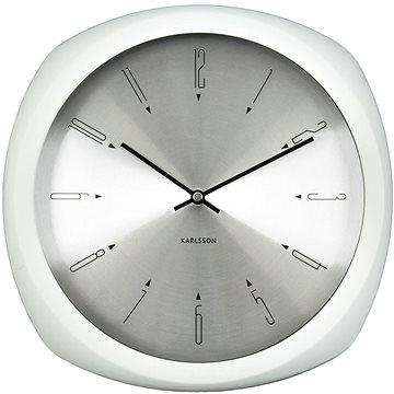 Nástěnné hodiny KARLSSON 5626WH (8714302609756)