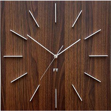 FUTURE TIME FT1010WE Square Dark Natural Brown (8594186620043)