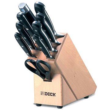F. Dick Dřevěný stojan s noži a kovaným příslušenstvím ze série Premier Plus (8807000)