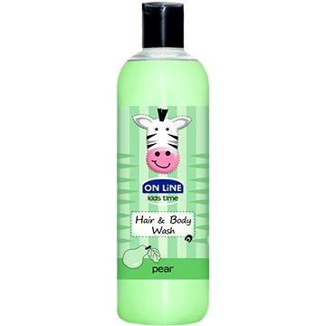 On Line Kids Time - krémový šampon a sprchový gel - hruška - 500ml