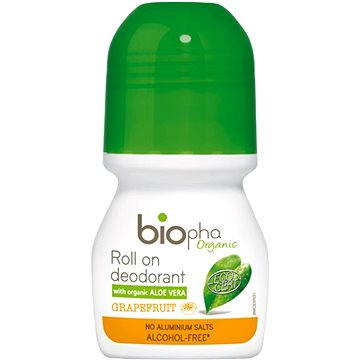 BioPha Grapefruit dámský deodorant roll-on 50 ml
