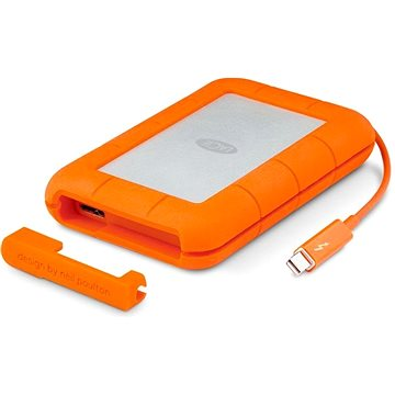 "LaCie 2.5"" Rugged 500GB Thunderbolt SSD USB-C + 3 roky SRS Rescue (STFS500400)"