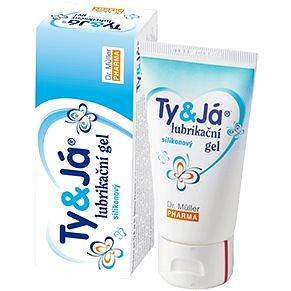 Lubrikační gel Ty&Já® silikonový (2898949)