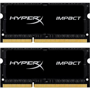 HyperX SO-DIMM 8GB KIT DDR3L 1866MHz Impact CL11 Black Series (HX318LS11IBK2/8)