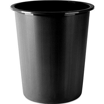 Odpadkový koš DONAU 14l černý (D305-01)