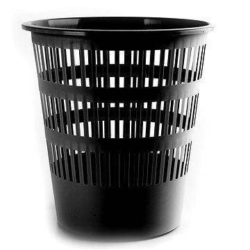 Odpadkový koš DONAU 16l černý (D306-01)