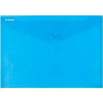 DONAU A4, s drukem, transparentní modré (8544001PL-10)