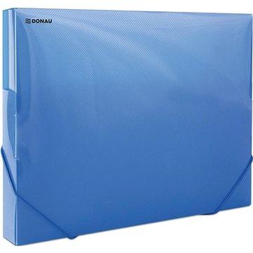 DONAU Propyglass A4 - transparentní, modré (8545001PL-10)