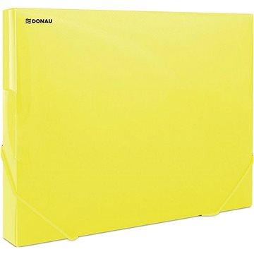 DONAU Propyglass A4 - transparentní, žluté (8545001PL-11)