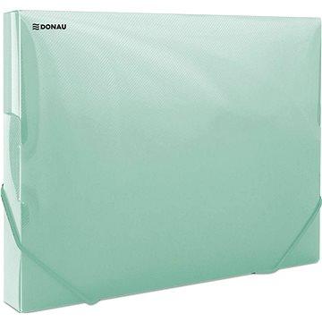 DONAU Propyglass A4 - transparentní, zelené (8545001PL-06)