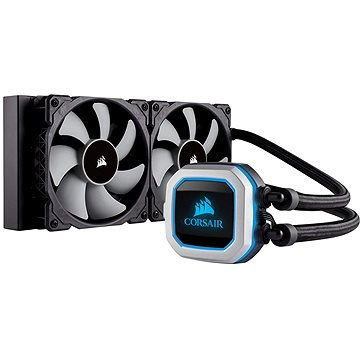 Corsair Hydro Series H100i PRO RGB Liquid CPU Cooler (CW-9060033-WW)