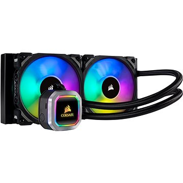 Corsair Hydro Series H100i RGB PLATINNUM Liquid CPU Cooler (CW-9060039-WW)