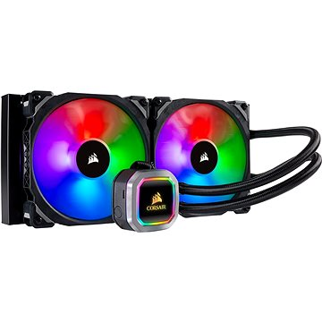 Corsair Hydro Series H115i RGB PLATINNUM Liquid CPU Cooler (CW-9060038-WW)