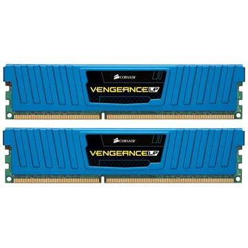 Corsair 8GB KIT DDR3 1600MHz CL9 Blue Vengeance Low profile - CML8GX3M2A1600C9B