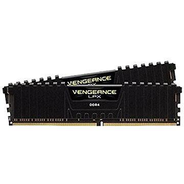 Corsair 16GB KIT DDR4 3000MHz CL15 Vengeance LPX černá (CMK16GX4M2B3000C15)