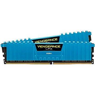 Corsair 16GB KIT DDR4 3000MHz CL15 Vengeance LPX modrá (CMK16GX4M2B3000C15B)