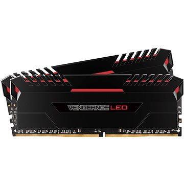 Corsair 16GB KIT DDR4 2666MHz CL16 Vengeance LED - red LED (CMU16GX4M2A2666C16R)