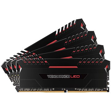 Corsair 32GB KIT DDR4 3000MHz CL15 Vengeance LED - red LED (CMU32GX4M4C3000C15R)